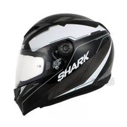 Capacete-Shark-S700-Lab-KWA-Preto-Cinza-Branco