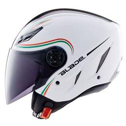 Capacete-AGV-Blade-Star-Italia-Branco-Verde-Vermelho