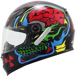 Capacete-LS2-FF358-Crazy-Skull-Preto-Azul
