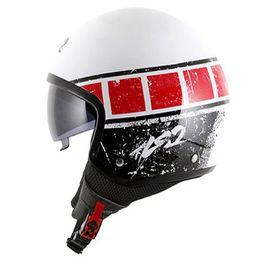 Capacete-LS2-OF561-Wave-Rook-Branco-Vermelho