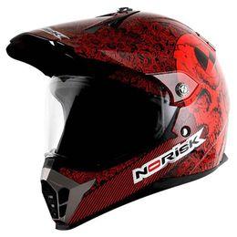 Capacete-Norisk-MX455-Test-Machine-Preto-Vermelho