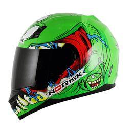 Capacete-Norisk-FF391-Creepy-M-Verde