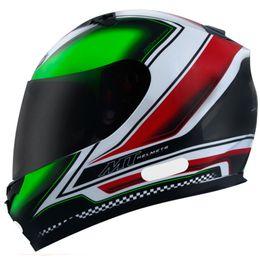 Capacete-MT-Blade-Mugello-Matt-Preto-Verde-Vermelho-Branco-Fosco