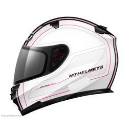 Capacete-MT-Blade-Raceline-Branco-Pink