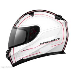 Capacete-MT-Blade-Raceline-Branco-Vermelho