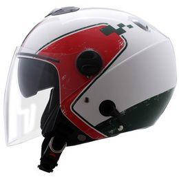 Capacete-Zeus-202FB-T36-Italy-com-Viseira-Solar-Branco-Verde-Vermelho