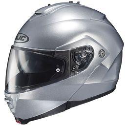 Capacete-HJC-IS-MAX-II-com-Viseira-Solar-Prata