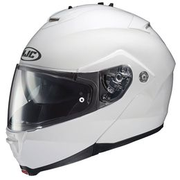 Capacete-HJC-IS-MAX-II-com-Viseira-Solar-Branco