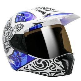 Capacete-Bieffe-3-Sport-Maori-Branco-Azul