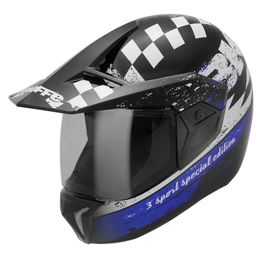 Capacete-Bieffe-3-Sport-Special-Edition-Preto-Azul