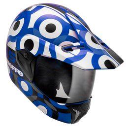 Capacete-Bieffe-3-Sport-T-Azul-Branco