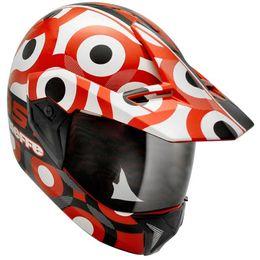 Capacete-Bieffe-3-Sport-T-Vermelho-Branco