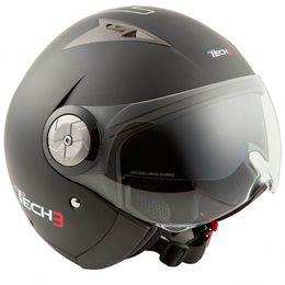 Capacete-Tech3-B216-Preto-Fosco-Cinza