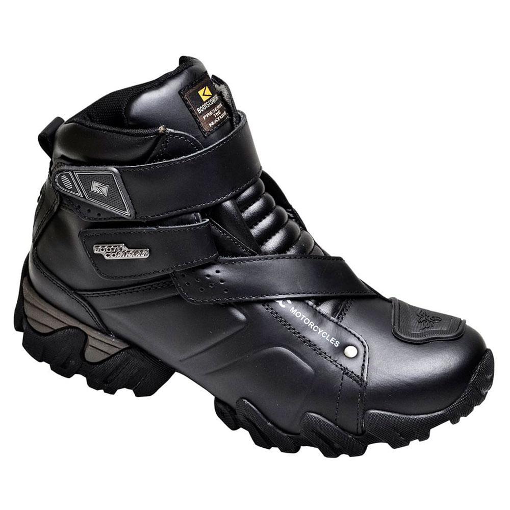 Bota Boots Company Ducaty Alpina Preta