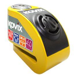 Trava-de-Disco-KD6Y-Com-Alarme-Amarelo---Kovix