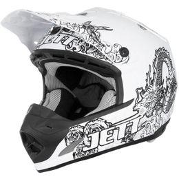 Capacete-Pro-Tork-TH1-Jett-Lite-Tattooed-Branco