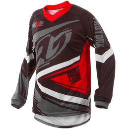 Camisa-Pro-Tork-Insane-4-Preta-Cinza-Vermelha