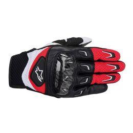 Luva-Alpinestars-SMX-2-Carbon-Vermelho-Preto