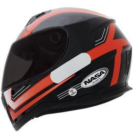 Capacete-Nasa-SH-881-Elegance-Preto-Vermelho