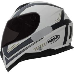 Capacete-Nasa-SH-881-Elegance-Branco-Preto