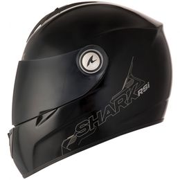 Capacete-Shark-RSI-S2-Serie-2-Blank-BLK-Preto