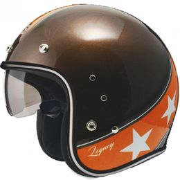 Capacete-Zeus-380F-Vintage-Legacy-K57-Brown-Laranja-