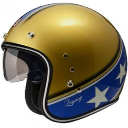 Capacete-Zeus-380F-Vintage-Legacy-K57-Dourado-Gold-Azul