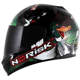 Capacete-Norisk-FF391-Ducky-Preto
