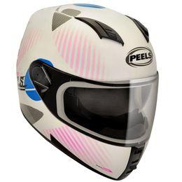 Capacete-Peels-Icon-Ride-Branco-Rosa