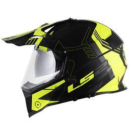 Capacete-LS2-MX436-Pioneer-Trigger-Preto-Branco-Amarelo