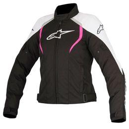 Jaqueta-Alpinestars-Alux-Stella-Modelo-Novo-Preta-Branca-Rosa