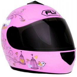 Capacete-Fly-Fun-Love-Flowers-Rosa-Infantil