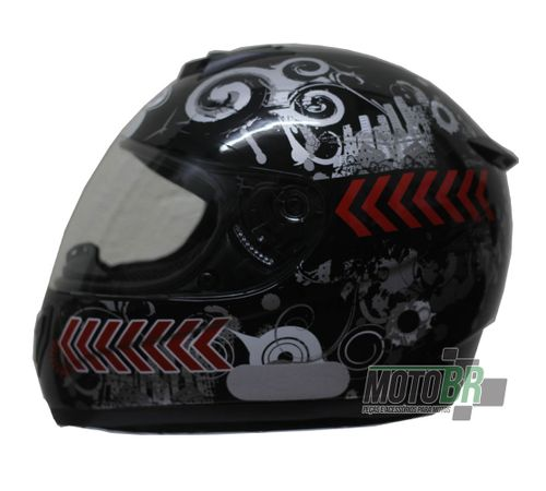 Capacete-V-21-Helmets-Preto-Grafismo-Cidade-Faixa-Lateral-Vermelho