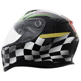 Capacete-Nasa-SH-881-Flag-Verde-Branco-Vermelho