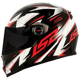Capacete-LS2-FF358-Draze-Preto-Branco-Vermelho