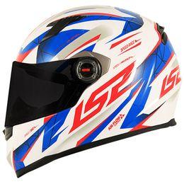 Capacete-LS2-FF358-Draze-Branco-Azul-Vermelho