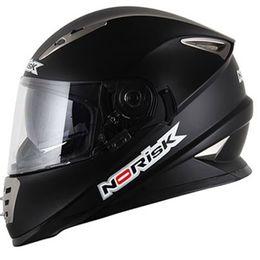 Capacete-Norisk-FF302-Preto-Fosco-com-Viseira-Solar