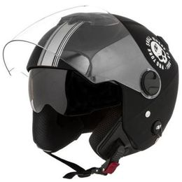 Capacete-Pro-Tork-New-Atomic-Skull-Riders-Preto-Prata-Fosco-