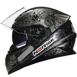 Capacete-Norisk-FF302-Android-Cinza