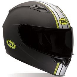 Capacete-Bell-Qualifier-Hi-Vis-Rally-Matt-Preto-Amarelo-Fosco