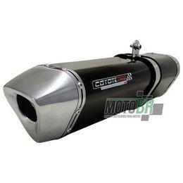 Escapamento-Ponteira-Coyote-TRS-Black-Aluminio-Preto---Suzuki-Bandit-650N-650S---2007-ate-2008---Roncar---6840.1