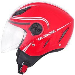 Capacete-AGV-Blade-Start-Vermelho-Branco