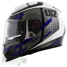 Capacete-LS2-FF397-Vector-Bit-Evo-Branco-Titaniun-Azul-4