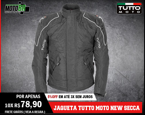 Jaqueta Tutto Moto New Secca