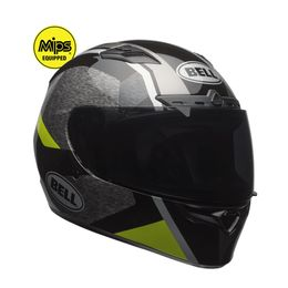 CAPACETE-BELL-QUALIFIER-DLX-MIPS-ACCELERATOR-CINZA-AMARELO