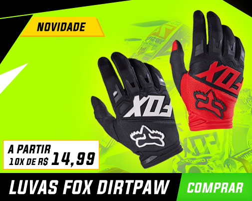 Luva Fox DirtPaw