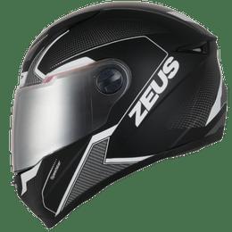 Capacete-Zeus-811-Evo-Speedster-AL6-Preto-Cinza-Fosco