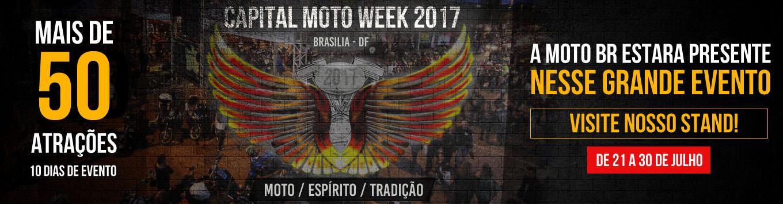 Evento Brasilia Capital Moto Week