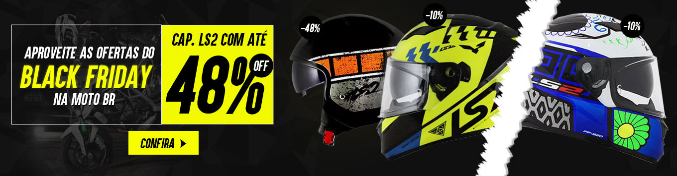 Black Friday Capacete LS2