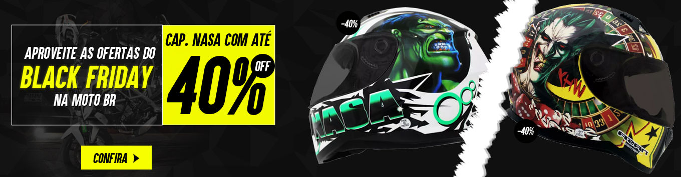 Black Friday Capacete Nasa
